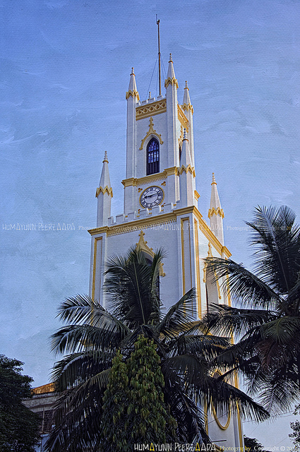 St. Thomas Cathedral, Mumbai. The Syrian Christians of Malabar cherish a tradition that he brought the Gospel to India. (Humayunn Peerzaada)