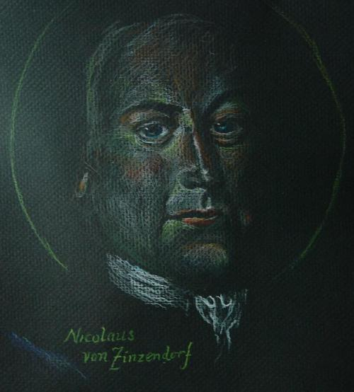 """Zinzendorf's """"theology of the heart"""" went beyond personal emotion to prayer and action. On his inspiration, Moravians began continuous intercessions, praying in shifts, that lasted 100 years and produced thousands of missionaries. (The Rev. Tobias S. Haller)"""
