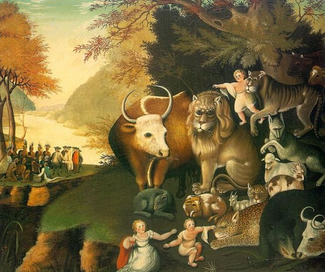 Edward Hicks, 1826: Peaceable Kingdom