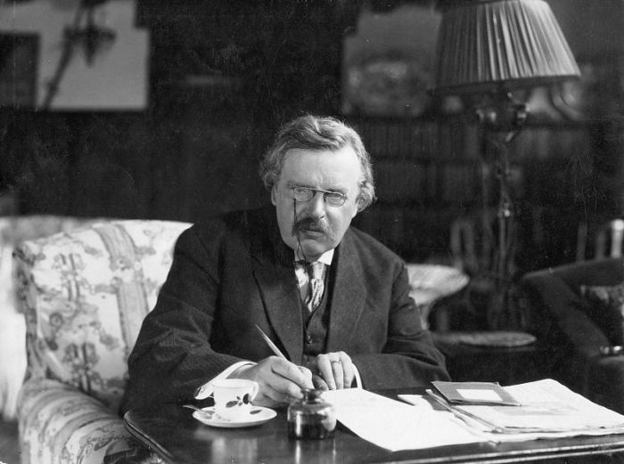 "G.K. Chesterton was an English novelist and literary critic whose spiritual interests grew from occultism to what he termed ""orthodox"" Christianity, in an increasingly skeptical age after the Great War. (Crisis Magazine)"