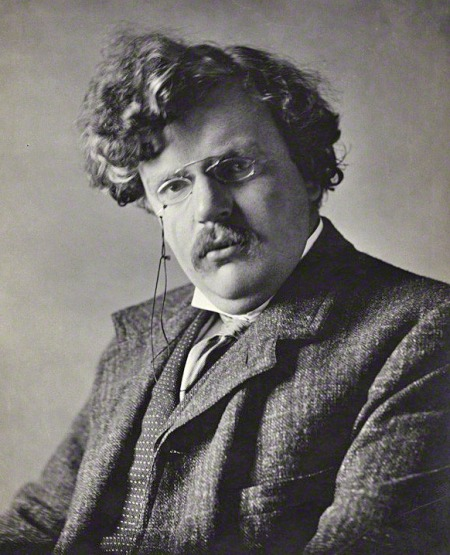 G.K. Chesterton is known and loved for his sharp wit, intellectual tenacity, and refusal to resolve the ambiguities of Christian faith in favor of facile and transient conceptions of truth. He is best remembered for his mystery novels starring a priest-detective, Father Brown, but he also wrote serious biographies of Aquinas and St. Francis of Assisi. (Ernest Herbert Mills, 1909/National Portrait Gallery)