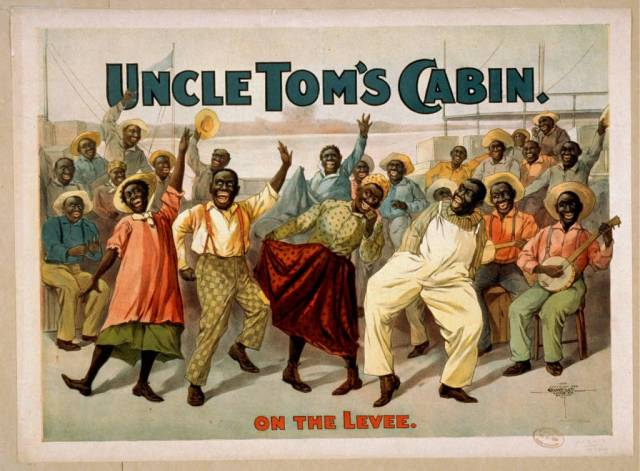 """""""Uncle Tom's Cabin"""" provokes a lot of ambivalence among African-Americans. Many recognize its persuasive power in the fight against American slavery, but bristle at aspects of the book's portrayal of their lives as pathetic victims. Its enormous commercial success also led to widespread and unauthorized exploitation by white publishers and theatrical producers of aspects of the story, often distorting it beyond recognition and using racist stereotypes to sell it as popular entertainment so that a people tortured, oppressed and abused were turned into happy-go-lucky nincompoops. To this day among African-Americans, calling someone an """"Uncle Tom"""" is an insult; it means one who cooperates with oppression to obtain a cheap social advantage."""
