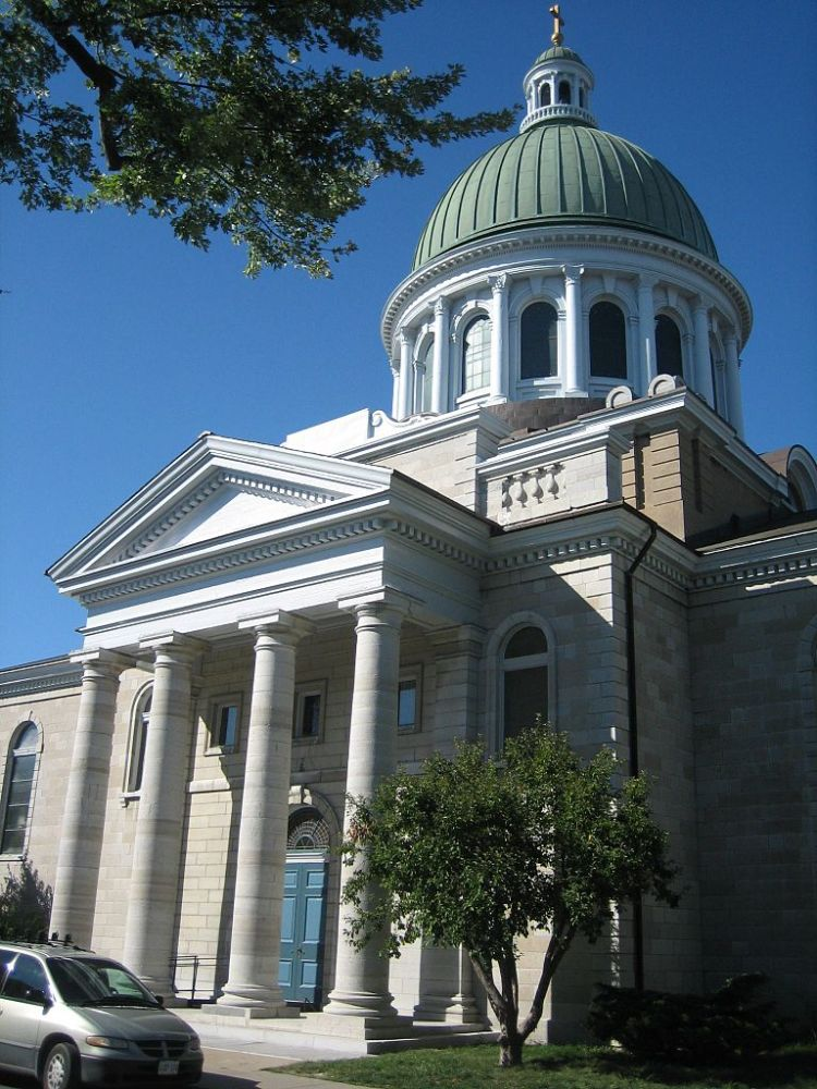 St. George's Cathedral, Kingston, Ontario (Wikipedia)