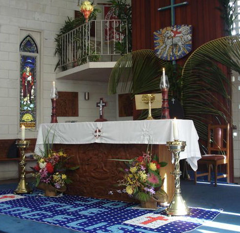 St. John's Cathedral, Port Moresby, PNG. (portmoresby.anglican.org)