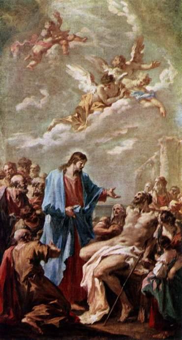 Giovanni Pellegrini: Christ Healing the Paralytic