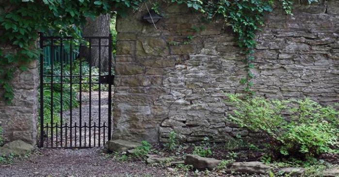 The narrow gate. (nsb.org)