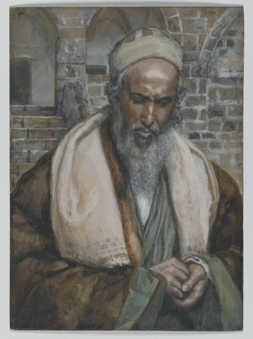 James Tissot: St. Luke (Brooklyn Museum)