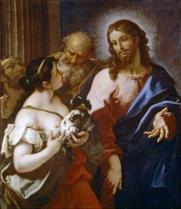 Sebastiano Ricci: Christ and the Canaanite Woman