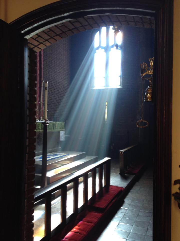 """Church of the Advent, Baltimore, Maryland, USA; """"And the temple was filled with smoke from the glory of God and from his power."""" (The Rev. Robert F. Solon, Jr.)"""