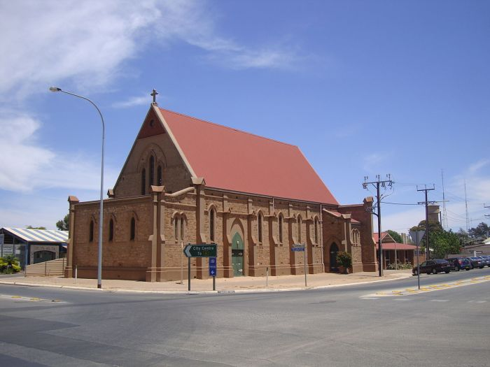 Ss. Peter and Paul Cathedral, Port Pirie, South Australia, was built in 1899 and consecrated as the cathedral a century later. (John Armagh)