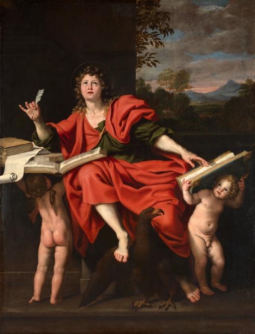 Domenichino (d. 1641): St. John the Evangelist
