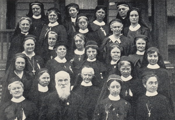 From the Class of 1907 at the New York Training School for Deaconesses, Harriet Bedell went on to minister for over 60 years among Native Americans in Oklahoma, Alaska and Florida. Even a hundred years ago there was no shortage of women answering God's call, despite little money, prestige or power.