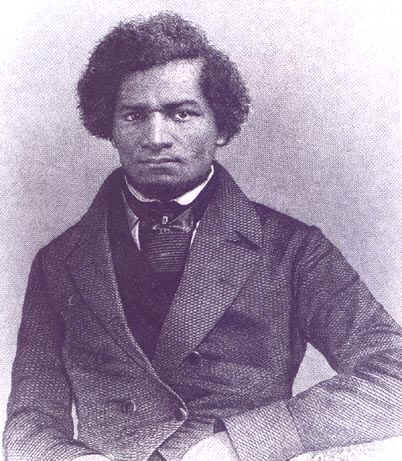 """Frederick Douglass denounced churches which failed to condemn slavery by quoting Christ excoriating the Pharisees: """"They bind heavy burdens and grievous to be borne, and lay them on men's shoulders; but they themselves will not move them with one of their fingers."""" (Matthew 23:4)"""