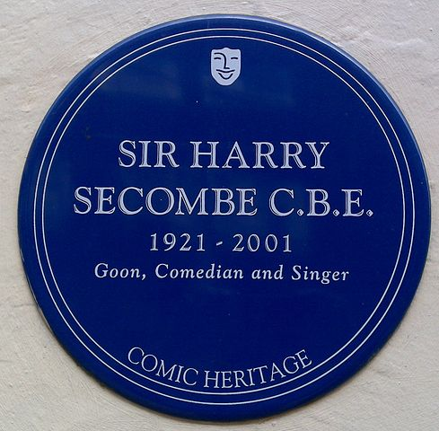 """After he was knighted, Harry, a big fellow, joked that he ought to be called """"Sir Cumference."""" His brother Fred was a priest in the Church in Wales. (Frankie Roberto/Wikipedia)"""