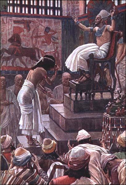 James J. Tissot, 1896-1900: Pharaoh Welcomes Joseph's Family to Egypt