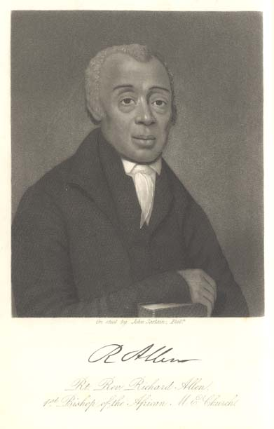 The Rev. Richard Allen of Philadelphia founded the African Methodist Episcopal Church to unite Black Methodists in several Northern U.S. cities. It was the first denomination founded for sociopolitical reasons instead of theological ones, and it might not have been necessary if the White Methodists had treated them like brothers and sisters. Today at 2.5 million members, the AME Church is larger than The Episcopal Church.