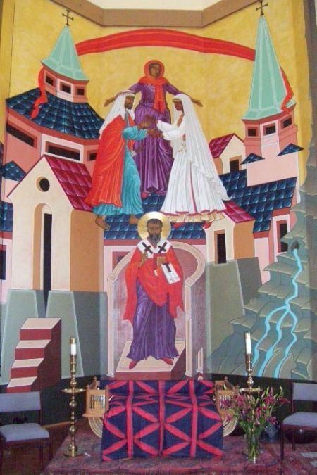 Mark Dukes: Christ Weds the Church (St. Gregory of Nyssa Church, San Francisco)