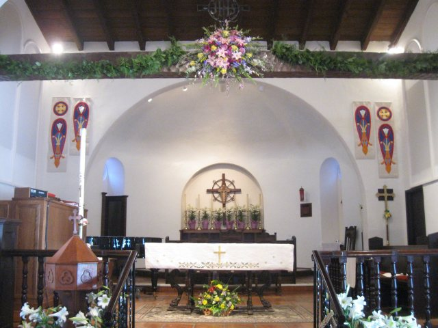 Easter 2014 at St. Clement's by the Sea, San Clemente, California. (Katrina Soto)