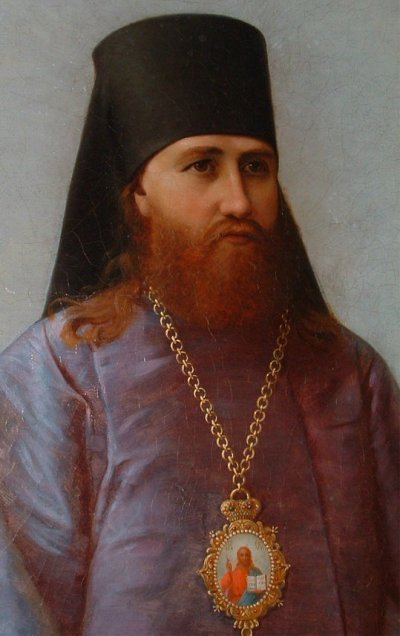 """Tikhon was a priest's son who entered seminary at age 13; his classmates nicknamed him """"Patriarch,"""" which turned out to be prophetic. As an adult he became Bishop of Lublin, then Archbishop of Alaska, where he established many new churches and enjoyed warm relations with the Episcopal Church and others. He became Patriarch of Moscow in 1917, endured the Russian Revolution, sold Church valuables to feed the poor during the resulting famine, was imprisoned for a year by the Soviets, and endured criticism from the left and the right. In 1989 the Russian Council of Bishops glorified him among the saints."""