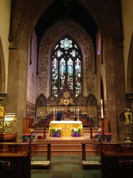 Easter Day 2014 at Grace Church, Nyack, New York, 2014. (parish photo)