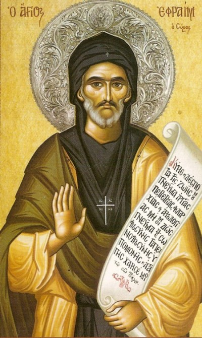 St. Ephrem was an early writer of hymns and understood how useful they are in converting the soul. (iconreader.wordpress.com)