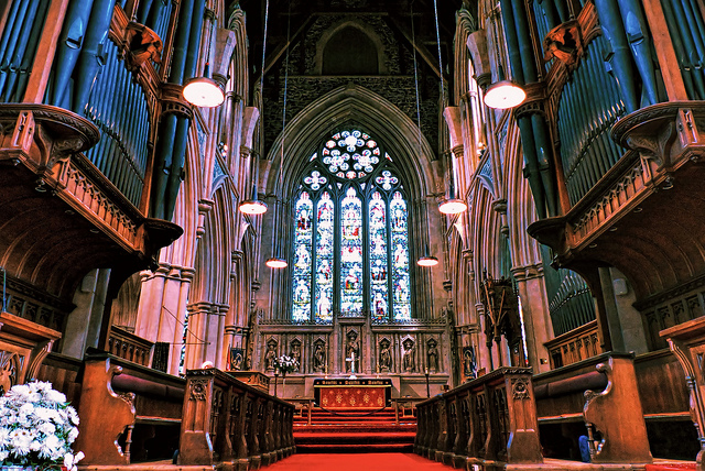 Cathedral of St. John the Baptist, St. Johns, Newfoundland. (flickr)