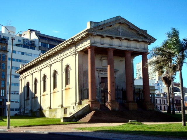 Cathedral of the Most Holy Trinity in Montevideo, Uruguay in the Province of the Southern Cone. (Wikipedia)
