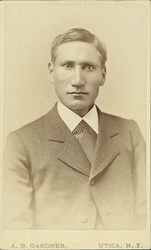 """A photo of """"God's Warrior"""" in 1881, the year he was ordained. (Burnham Collection, Oklahoma State University)"""