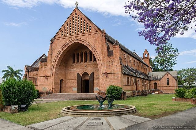 Christ Church Cathedral, Grafton, from its Facebook page.