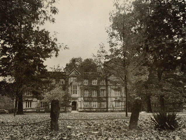 The original Bexley Hall on the campus of Kenyon College in Gambier, Ohio, founded by Bishop Chase. The Episcopal seminary has affiliated with several other institutions (Rochester, New York and Columbus, Ohio), most notably forming a federation with Seabury-Western in Chicago. Now with two campuses, it remains one of 10 official Episcopal seminaries in the USA. Meanwhile this building now contains the fine arts department at Kenyon. (Papers of Philander Chase at Kenyon College)