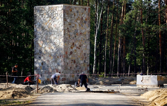 Another view of Sobibor. (Kacper Pempel/Reuters)
