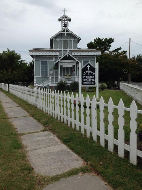 St. Peter's-by-the-Sea, Cape May, New Jerseya fine example of Carpenter Gothic architecture. (The Episcopal Church)