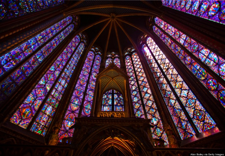 This is a Christian church, obviously - Sainte-Chapelle, Paris - but it surely reflects the prophecy reported by Haggai that God's House be a place of splendour. (Huffington Post)