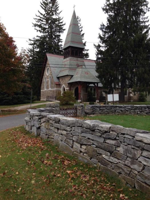 Trinity Church, Falls Village, Connecticut, USA. (Photo by The Episcopal Church on Facebook)