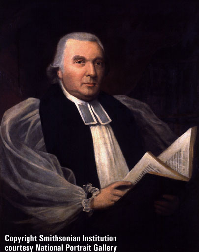 Seabury was a Crown loyalist before and during the American Revolution, but when the war was won he supported the new government. It took almost 20 years after the Declaration of Independence and an act by the Scottish Episcopal Church before the U.S. Church finally got its own bishop - and then only because of the Scots. (Smithsonian Institution)