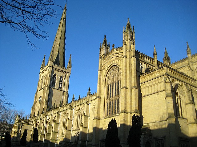 All Saints' Cathedral Cathedral, West Yorkshire (Mike Kirby)