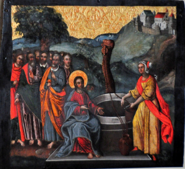Ivan Rutkovych: Christ and the Samaritan Woman (Lviv National Museum)