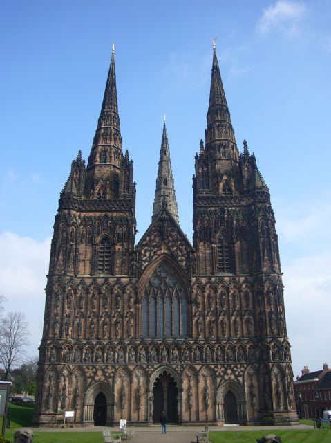Lichfield Cathedral, Staffordshire, England (Roger Robinson)