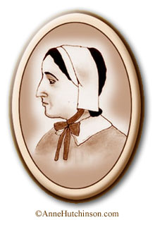 Anne Hutchinson's advocacy for women as ministers and leaders of the Christian community kind of puts the Church of England's current hubbub over the first woman bishop into perspective; she was advocating this sort of thing 400 years ago.