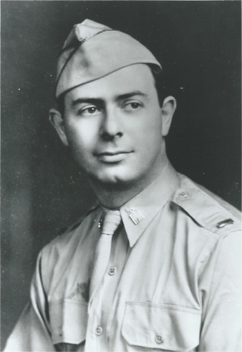 Lt. Alexander Goode was born in Brooklyn, New York and raised in Washington, D.C. He graduated from the University of Cincinnati, Hebrew Union College and earned a doctorate at Johns Hopkins University, and served synagogues in Marion, Indiana and York, Pennsylvania before being accepted as an Army chaplain. He died at 31, leaving behind his wife and daughter.