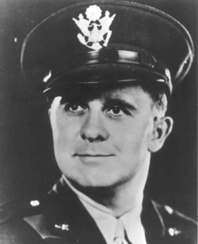 Lt. Clark V. Poling, the son of a Baptist minister and chaplain during World War I, grew up in Poughkeepsie, New York and played football in high school. He graduated from Rutgers University and Yale Divinity School, was ordained in the Reformed Church of America and pastored in church in Schnectady, N.Y. When the Second World War broke out he enlisted immediately. He and his fellow chaplains ministered to 900 soldiers on the transport ship Dorchester, headed for England by way of Greenland, when the ship was downed by a German U-boat. He was married to Elizabeth, had a young son named Corky, and his daughter Susan Elizabeth was born three months after his death.