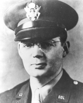 Lt. Father John P. Washington was the son of Irish immigrants and grew up in Newark, New Jersey, across the Hudson River from New York City. He was an altar boy, went to high school at a minor seminary and graduated from the School of Theology at Seton Hall University; he was ordained a Roman Catholic priest in 1935. He enlisted in the Army immediately after the Japanese attacked Pearl Harbor in 1941. His next of kin received his Four Chaplains Medal established by Congress, along with the other families, from the Secretary of the Army in 1961.