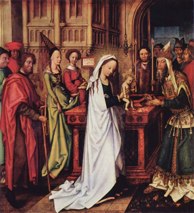 Hans Holbein the Elder, 1501: Presentation (Kunsthalle Hamburg)