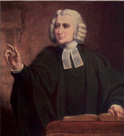 Charles Wesley, John's younger brother, wrote an astonishing 6000 hymns, many of which are still read and sung today. Their father Samuel Wesley the Elder was also a priest and poet, and Charles was the father of Church composers Samuel the Younger and Samuel Sebastian Wesley. That's a lot of talent in one family. (artist unknown)