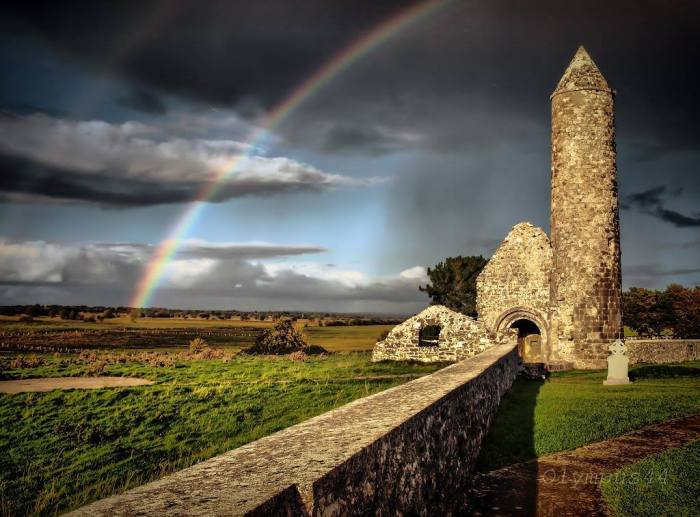 For join in God's creation: Clonmacnoise, Ireland, 2015. (Facebook)
