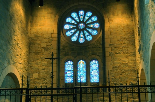 Chapel of the Society of St. John the Evangelist - the Cowley Fathers - in Cambridge, Massachusetts, near Boston. (SSJE website)