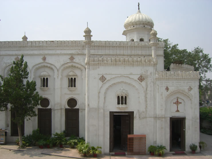All Saints', Peshawar City, was the site of suicide bombings in 2013 that killed 127 and injured more than 250, the deadliest attack on Christians in Pakistani history. This is an undated photo from the diocesan website.