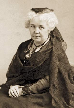 Elizabeth Cady Stanton, a Presbyterian who sometimes attended the Episcopal church with her friend Amelia Bloomer, was a principal organizer of the first Women's Rights Convention at Seneca Falls, New York in 1848. When a new Bible translation was published by an all-male group of scholars, she convened a committee of women to write a commentary, which focused on passages used to oppress and discriminate against women.