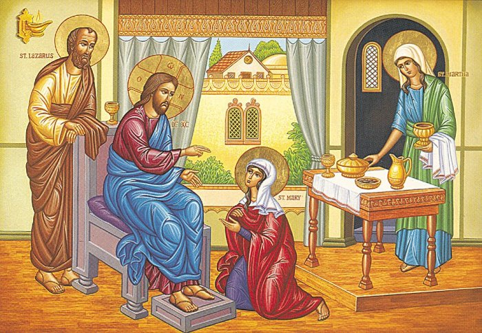 We can get so caught up in the fact that Jesus was the Son of God that we forget that Mary, Martha and Lazarus first knew him as a friend of the family - then what a friend he turned out to be. (communio.stblogs.org)