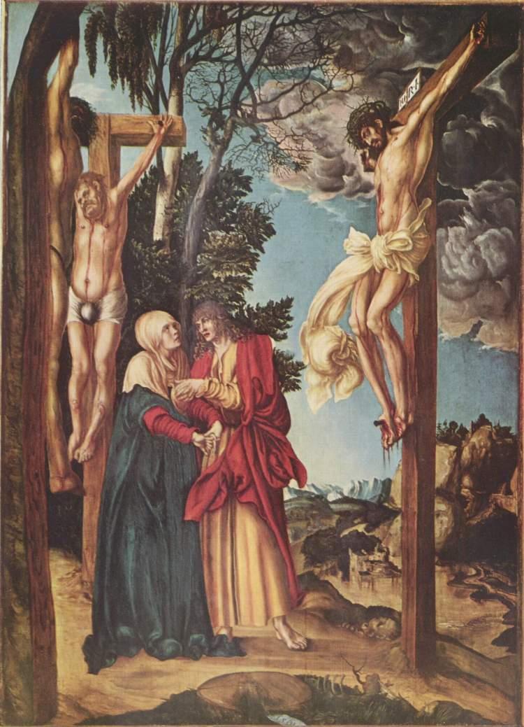 Lucas Cranach the Elder, 1502: Crucifixion